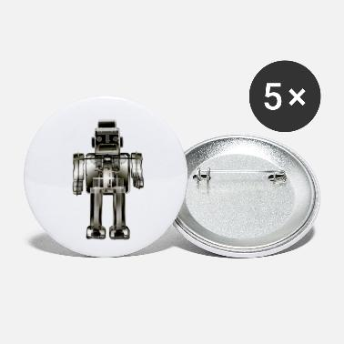 3N2O toy robot x-ray bw - Small Buttons