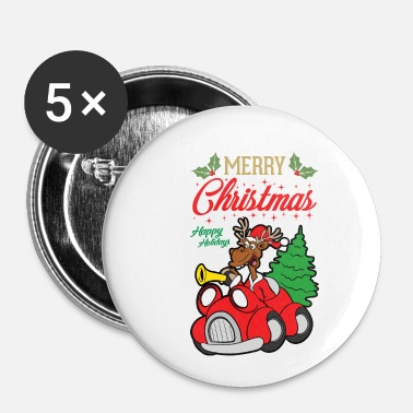 Ugly Christmas Christmas Xmas - Small Buttons