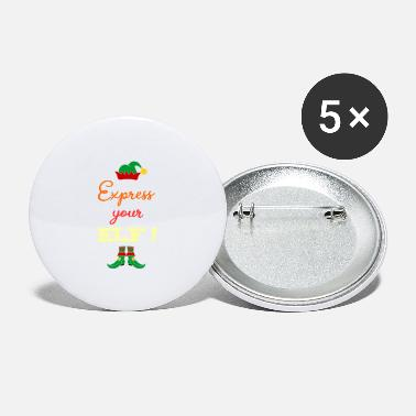 Expression Express your ELF! - Express yourself! - Small Buttons