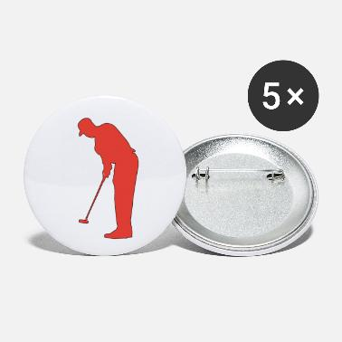 Golf Ball Golf, Golfer,Golf Player,Golf Ball T-shirts - Small Buttons