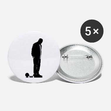 Prison prisoner - Small Buttons