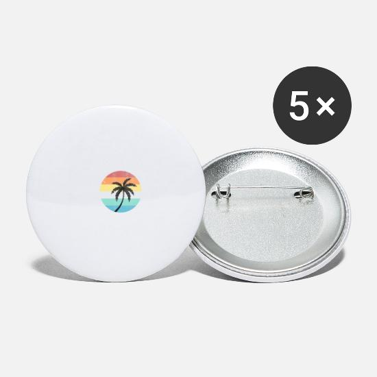 Sunrise Buttons - San Diego - Small Buttons white