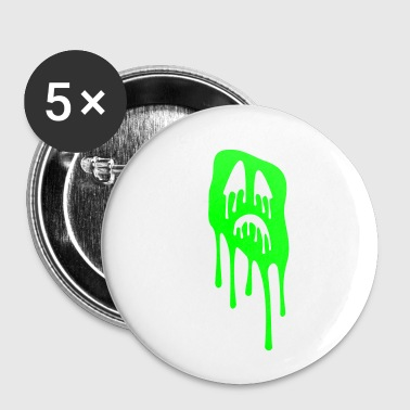 slimy grimace - halloween - Small Buttons