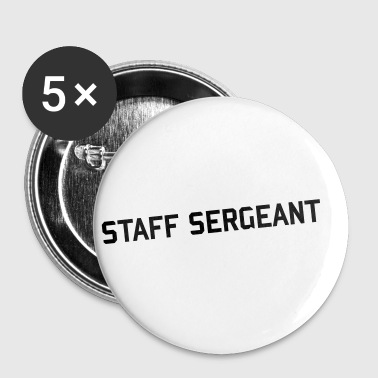 staff sergeant army patch rank - Small Buttons