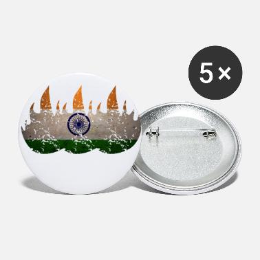 New Delhi India New-Delhi Fire - Small Buttons