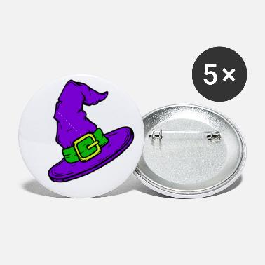 Halloween Witch Devil - Small Buttons