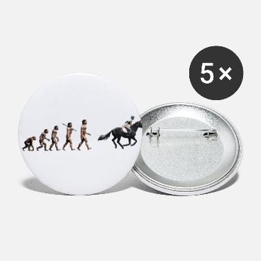Equitation Rider horse equitation - Small Buttons