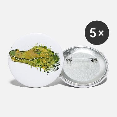 Spreadshirtlikes Crocodile Graffiti - Small Buttons