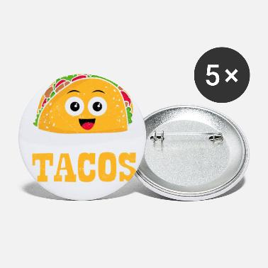 Fiesta I Wonder If Tacos Mexican Food Foodie Joke Fiesta - Small Buttons