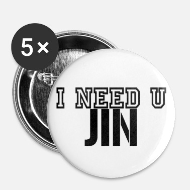 I Need U Jin Buttons - Small Buttons