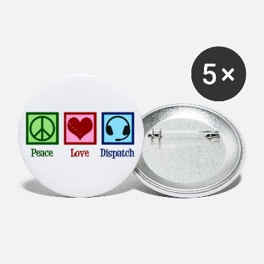Dispatch Peace Love Dispatch Operator Dispatcher - Small Buttons