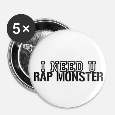 I Need U Rap Monster Buttons - Small Buttons