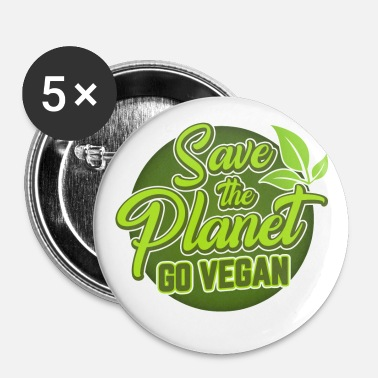 Vegan Vegan - Small Buttons