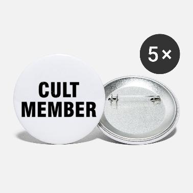 Cult Cult member - Small Buttons