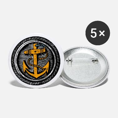 Maritime Anchor maritime - Small Buttons