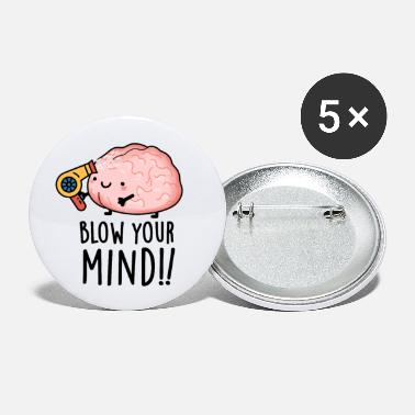 Funny Blow Your Mind Cute Brain Pun - Small Buttons
