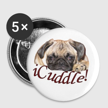 iCuddle Pug Puppy - Small Buttons