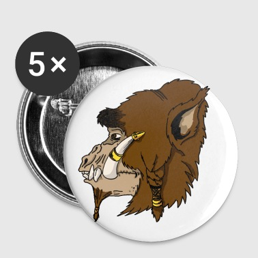 Fantasy Chieftain Ape-man - Small Buttons