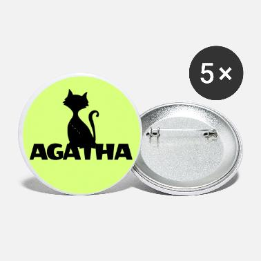 Name Day Agatha Name First name Name Motif name day - Small Buttons