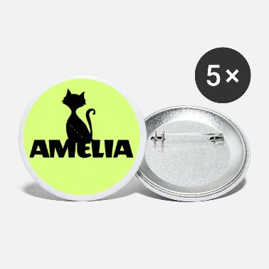 Name Day Amelia First name Name Name Motif Christening - Small Buttons