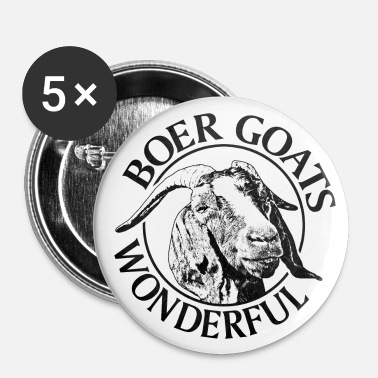shop boer goat gifts online spreadshirt Amazing Boer Goat boer goat boer goats wonderful buttons small 1 39