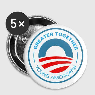 Young American for Obama 2012 - Small Buttons