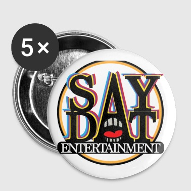 Yeezus SayDat Entertain Apparel USA - Small Buttons