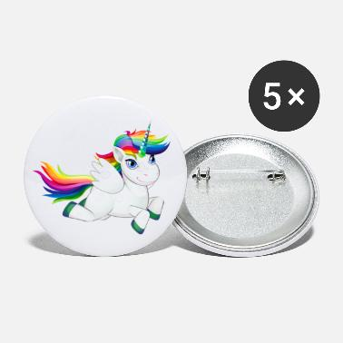 Pony Cute Rainbow Pony - Small Buttons