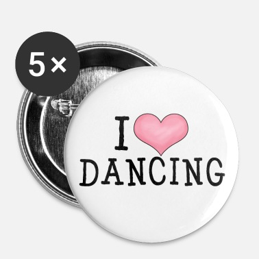 Tap I Love Dancing - Small Buttons