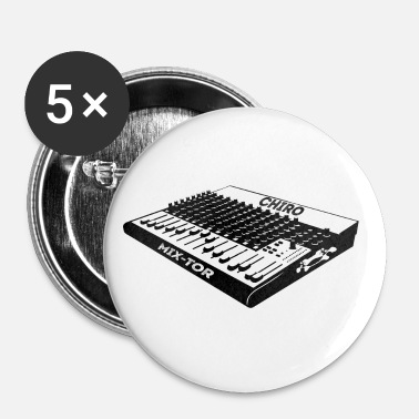 Chiropractic DJ ReMix Mix Tor - Buttons small 1'' (5-pack)