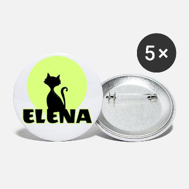 Name Day Elena Name day first name personal gift moonlight - Small Buttons
