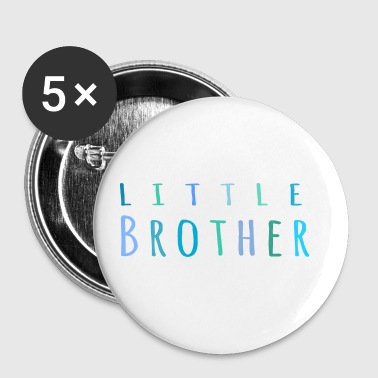Little Brother in blue - Small Buttons
