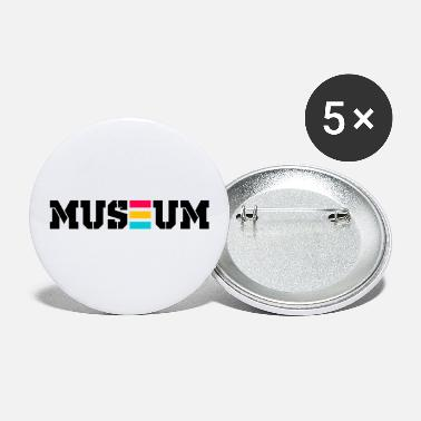 Museum museum - Small Buttons