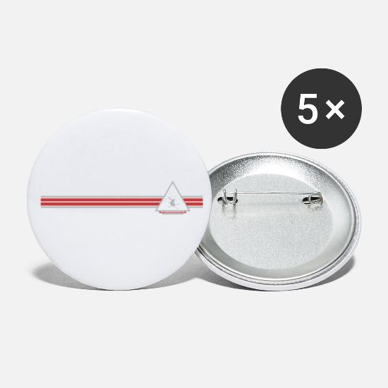 Ski Buttons - Skiing - Small Buttons white
