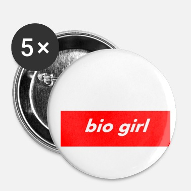 Bio BIO GIRL bio Tshirt - Small Buttons