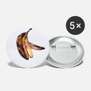 Ripe Ripe or Rotten Banana Peel - Small Buttons
