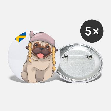 Sweden Sweden - Small Buttons