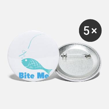 Fish Bite me - Small Buttons