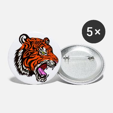Quadrat Cool Tiger - Small Buttons