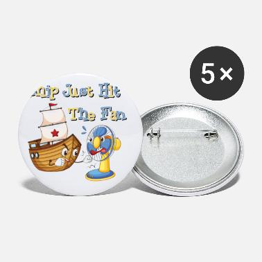 Idiom Funny Idiom Comic Kids - Small Buttons