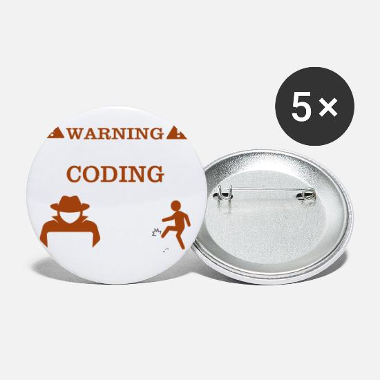 Programmer Buttons - DO NOT DISTURB! - Small Buttons white