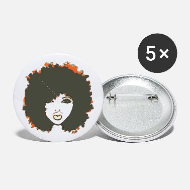 Hair Afro Cute Natural Hair Fro - Small Buttons