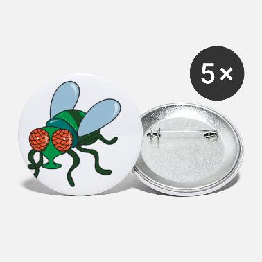Fly Fly Insect - Small Buttons