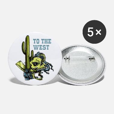 West To the west - Small Buttons
