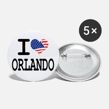 Love i love orlando - Small Buttons