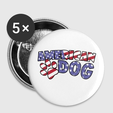 American Dog - Small Buttons