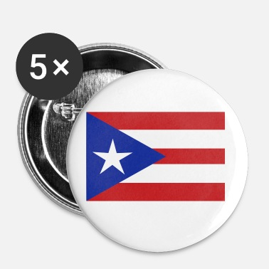 flag Porto Rico - Small Buttons