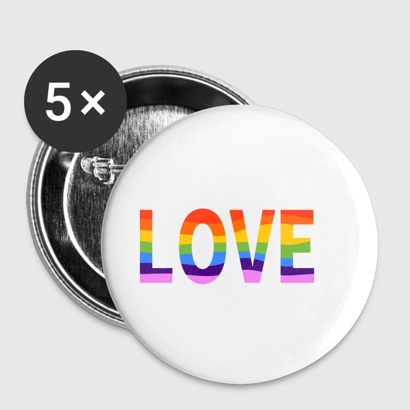 LGBT Pride Rainbow - Small Buttons