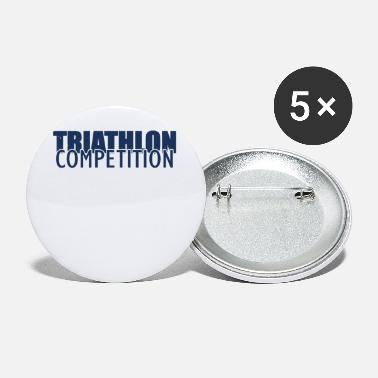 Triathlon Athlete Triathlon Sports Triathlons Triathloner - Small Buttons