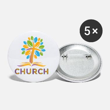 Church Church - Small Buttons